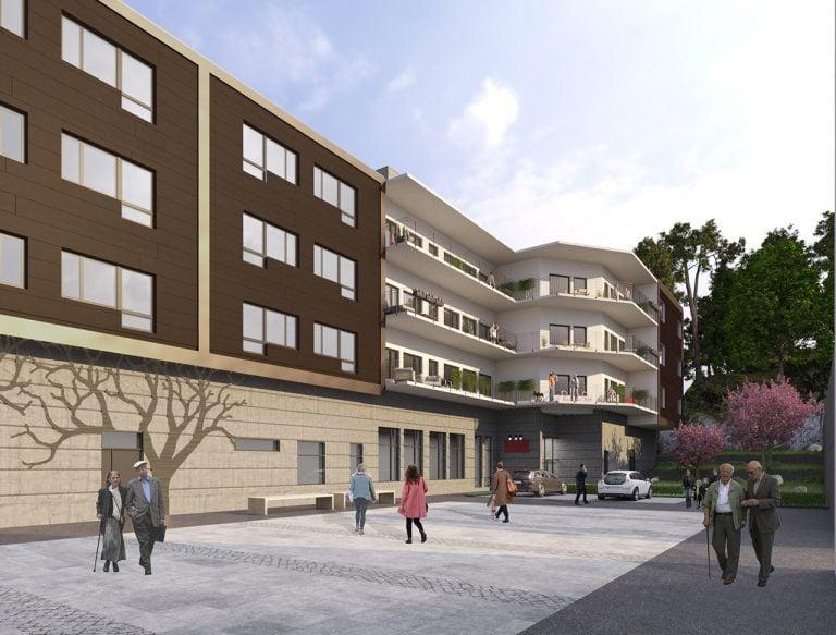 arkitektbild exteriör Villa Hovås